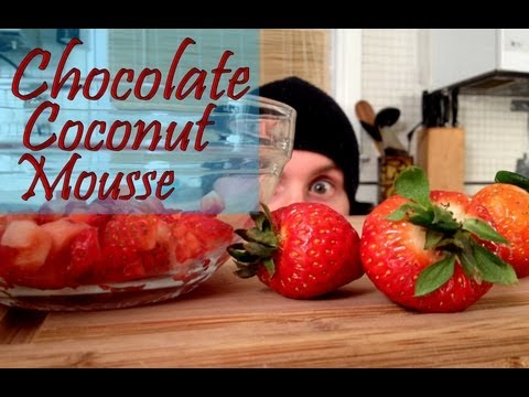 Chocolate Coconut Mousse - Valentine Day's Dessert - The Vegan Zombie