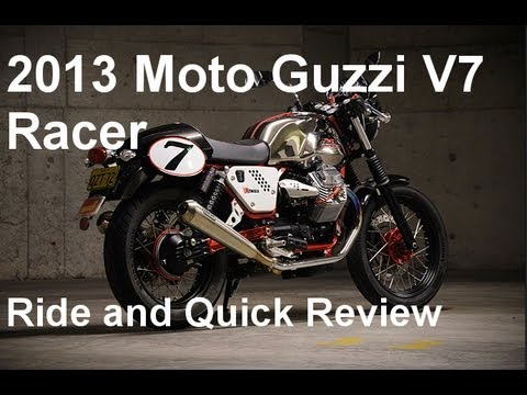 2013 Moto Guzzi V7 Racer - Quick Ride Review
