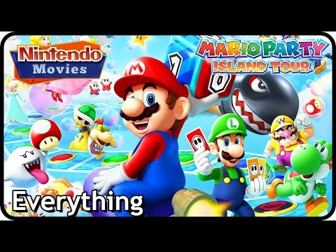 Mario Party Island Tour - Everything (All Board Games, All Mini-Games and more!)
