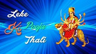 Leke Pooja Ki Thali Remix  Navratri Special WhatsA