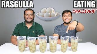 RASGULLA EATING CHALLENGE   Bengali Rasgulla Eating Competition   Food Challenge