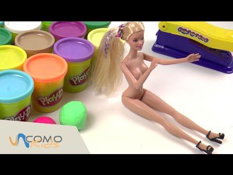 JUGUETES DE BARBIE - Barbie en español juguetes y SORPRESAS