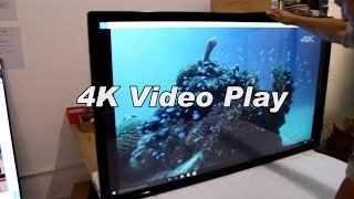 4K Full HD Video play in 55 inch Display Screen with Touch Function