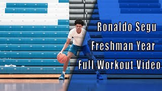 6'1 Gaurd Ronaldo Segu Offseason College Workout
