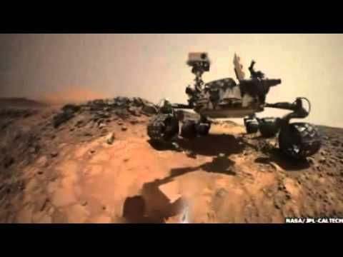 Curiosity Mars rover takes low-angle 'selfie'