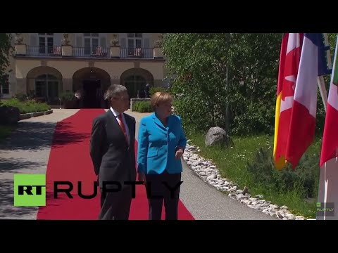 Germany: Merkel welcomes G7 leaders at Castle Elmau as summit kicks off