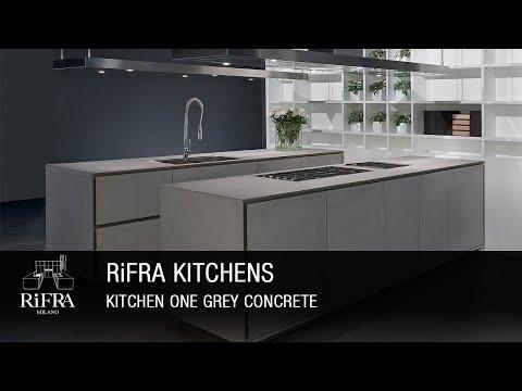Rifra Kitchen ONE - Kitchen in Grey Concrete