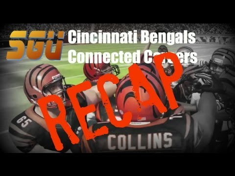 Madden 13 - (Recap) Cincinnati Bengals Franchise (Connected Careers) - EP9 (Week 9 vs Broncos)