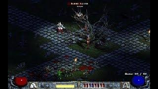 Diablo II: Blood Raven, 02 (Hell difficulty, Barbarian 67 lvl) Blizzard Entertainment, 2000