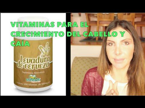 Vitaminas Y Levadura de Cerveza Para El Crecimiento del Cabello / Hair Vitamins