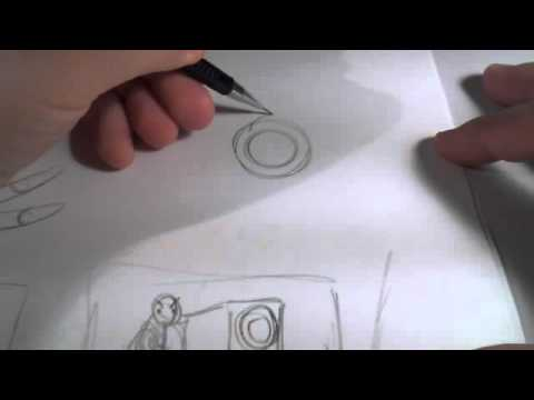 Scribbles With Jonathan-Episode 36, Foreshortening Part 1