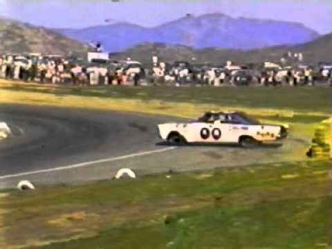 1965 AJ Foyt flip @ Riverside Video