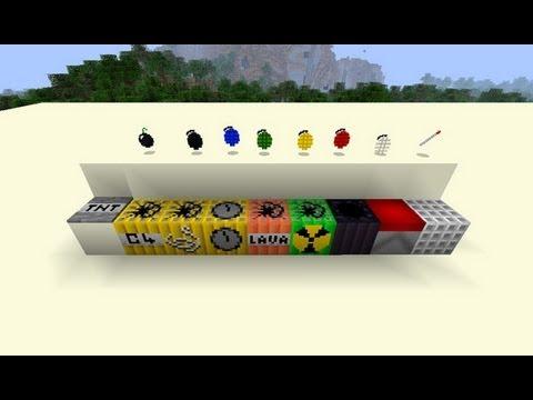 MineCraft 1.6.2 - Review Como instalar More Explosives  MOD