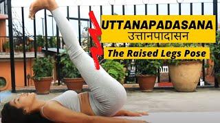 Uttanapadasana |The Raised Legs Pose | Best Pose To  Reduce Belly Fat | Yoga with Chanda