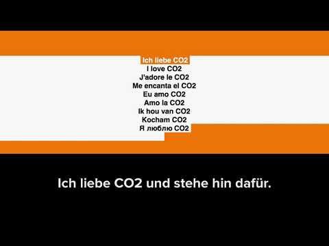 Ich liebe CO2 und stehe hin dafür