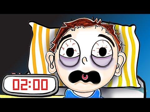 Как уснуть за 2 минуты? [AsapSCIENCE]