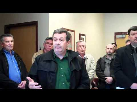 Press Conference concerning Murphy, NC Tornado on 3/2/12