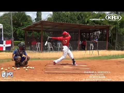 Dawill Medina OF 2019 Class From (El Bauty Baseball Academy)Date video: 06.09.2017