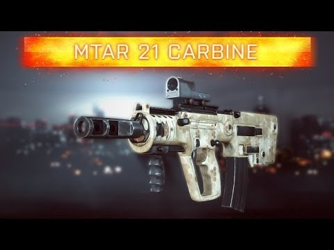 ► BF4 MTAR 21 CARBINE!   Battlefield 4 Weapon Review