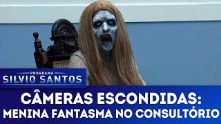 Menina Fantasma no Consultório - Ghost Girl at the clinic   Câmeras Escondidas (13/05/18)