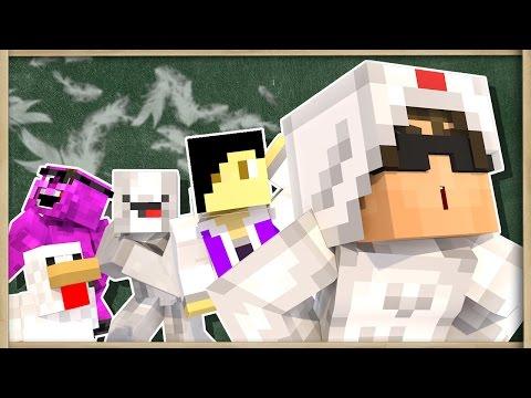 Minecraft TEACHER! HEALTHY SCHOOL LUNCHES! (Minecraft Roleplay)