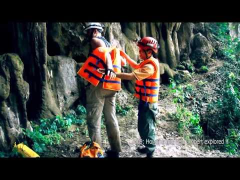 Explore the Cave Kingdom, Phong Nha Ke Bang National park Central Vietnam