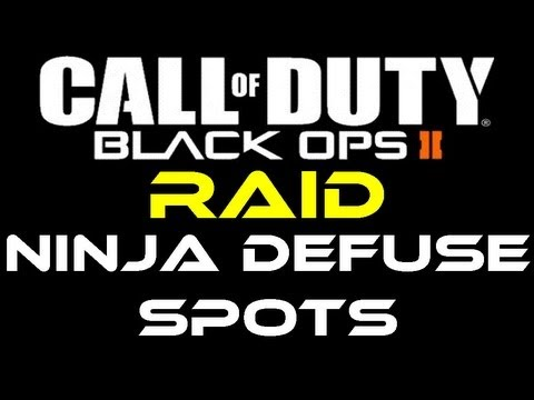 Black Ops 2 - Raid Ninja Defuse Spots / Tutorial by Product Shard