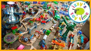 Thomas and Friends MASSIVE TRACK TOUR! Fun Toy Trains for Kids!