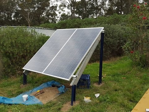 Off Grid Solar Power - My 600W Solar Power System