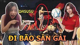 """Đi Bão """"Săn Gái Hot"""" Ngày U23 Việt Nam Vào Chung Kết U23 Châu Á 2018"""