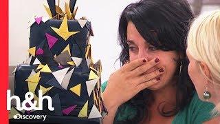 Noiva se desespera ao ver seu bolo de casamento | Batalha dos confeiteiros | Discovery H&H Brasil