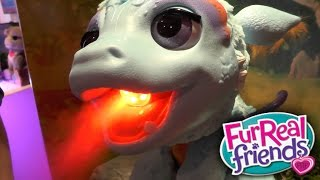Download FurReal Friends - Torch Blazin Dragon, Bootsie Kitten 3Gp Mp4