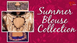 Fashion Passion | Summer Blouse Collections | By Sree Devi