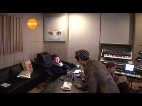 T.o.p. Recording With G-dragon Teddy And Kush! [hd] [eng] video