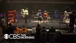 Cancer survivors step into boxing ring to knock out disease