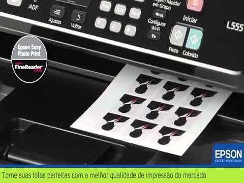 Impresora multifuncional Epson L555 WI FI  sistema continuo