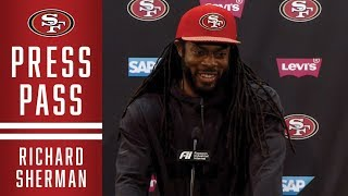 Richard Sherman Discusses His Walter Payton NFL Man of the Year Nomination | 49ers