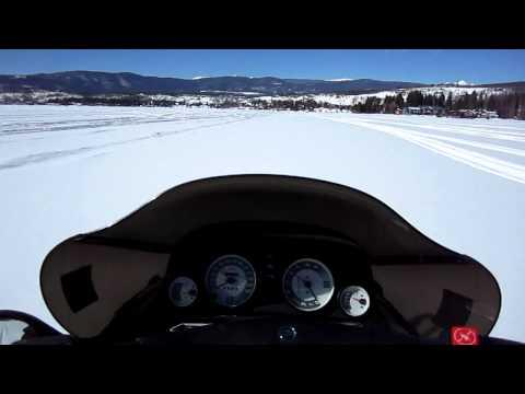 Ski Doo 2000 Mach Z on Grand Lake Colorado