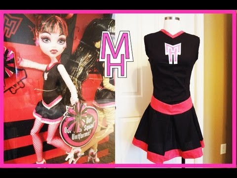 How to make the Monster High Fearleading Costume