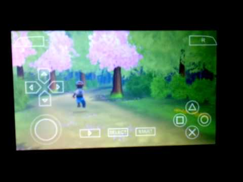 PPSSPP on Himax Polymer-Li running Havest Moon