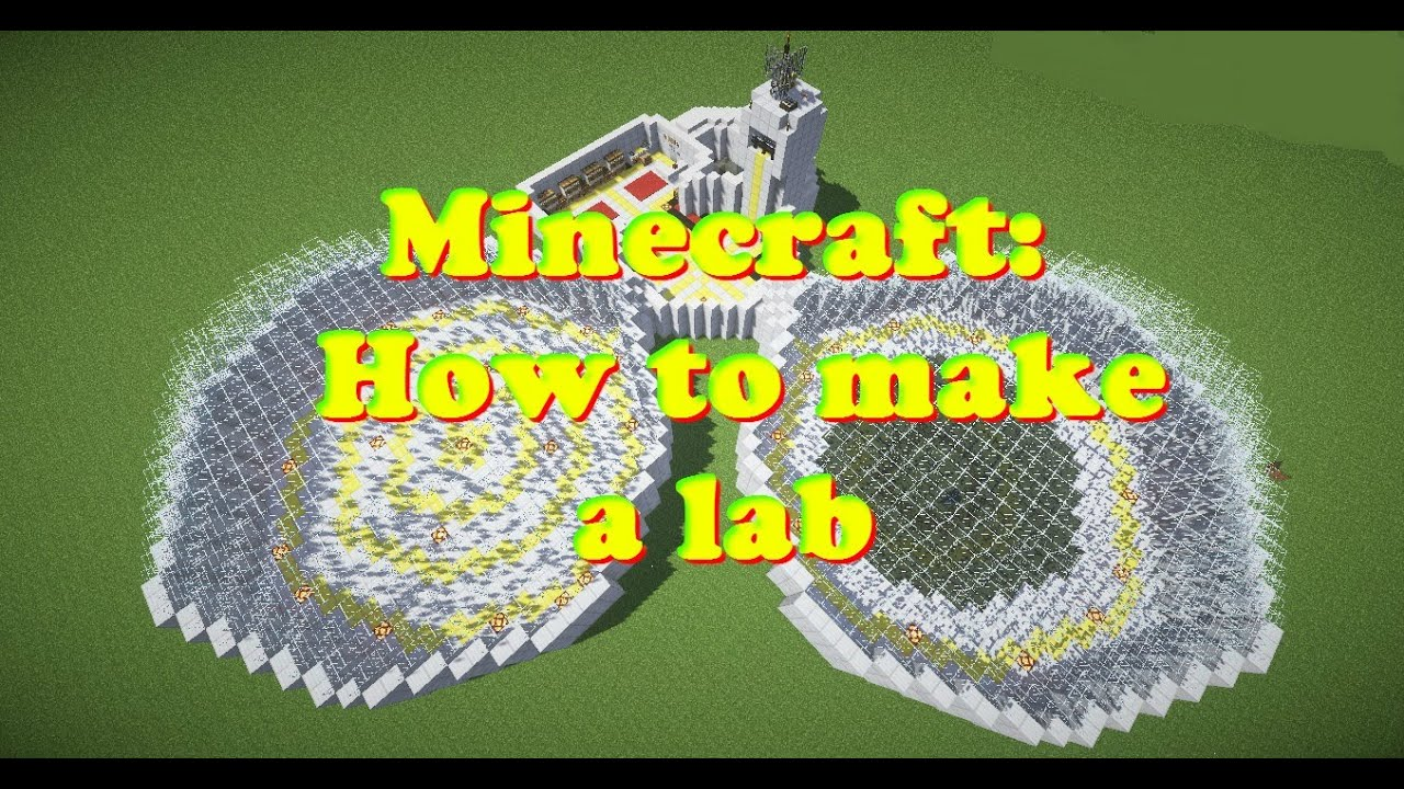 Minecraft How To Make A Lab Part 2 Youtube
