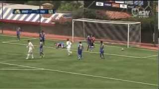 Real Madrid 1 Tigres 2 Copa Independencia Sub17 2013 23Agosto