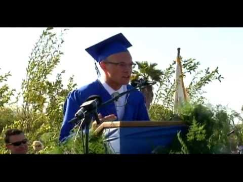 Spoken word graduation speech
