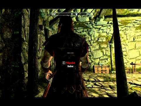 Skyrim Sneak Destruction and 1 Hand Weapon Skill Exploit / Cheat Level 30+ Before You Enter Skyrim!