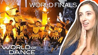The Kings' Final Routine - World of Dance World Finals 2019 | REACTION