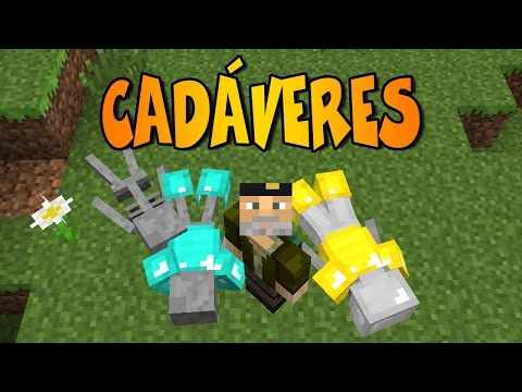 CADÁVERES EN MINECRAFT | Lootable Bodies | Mod Review Minecraft