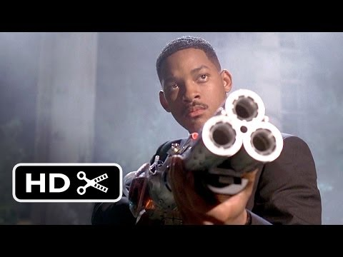 Men In Black (1997) - Shooting Down The Bug Scene (7/8)   Movieclips