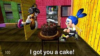 Splatoon GMOD: Inkling Girl's Birthday