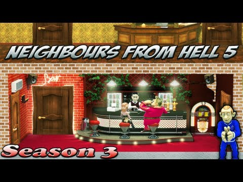 Neighbours From Hell 5 - Season 3 [100% walkthrough]