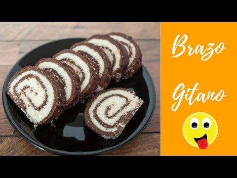 Royo de helado (pionono brazo gitano o torta helada)